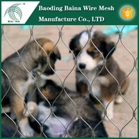 Factory stainless steel wire mesh animal cage
