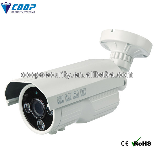 2.8-12m wifi face motion detection secuirty cctv bullet plastic camera