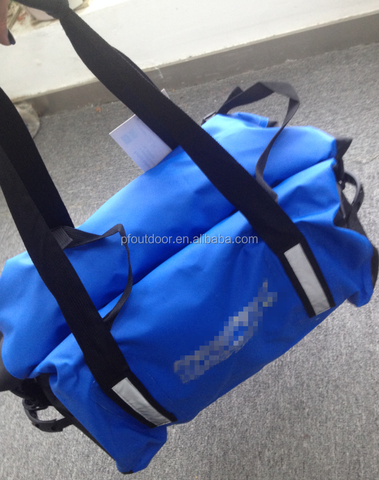 Dual purpose fashion waterproof dry bag for outdoor sports