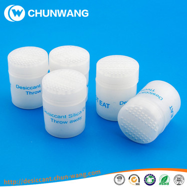 silica gel desiccant packet for pharmaceutical pills
