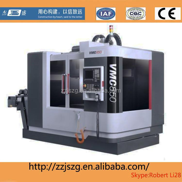Chinese used cnc vertical machining center vmc850