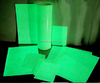 high quality free samples rare earth phosphor luminous glow in dark board