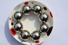 solid and hollow polished chrome steel|stainless steel ball AISI420 304 306 440