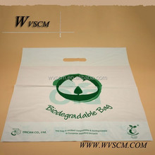 biodegradable shopping bags made from corn starch plastic