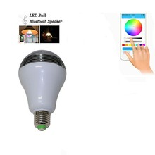LED Bulbs Bluetooth Control RGB Colorful LED Smart Bulb