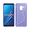 NS line design mobile phone cover For Samsung A8 plus 2018 tpu case