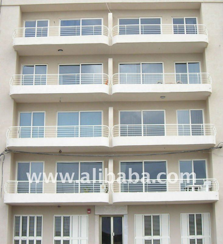 balcony stainless steel railing design