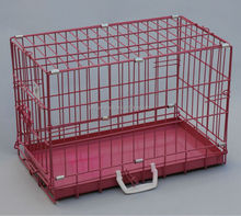 hotseller metal pan folding metal pet cage
