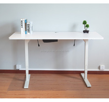 Sit and standing desks, electric and manual height adjustable table for office commercial furniture.