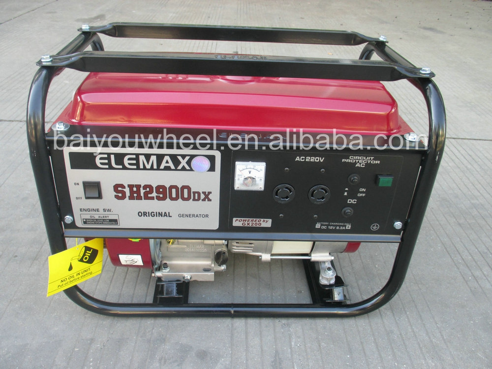 2KW ELEMAX gasoline generator SH2900DX(E) with good quality