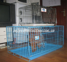 2015 hot sales!!!welded wire mesh large dog cage/folding dog cages/dog run kennels