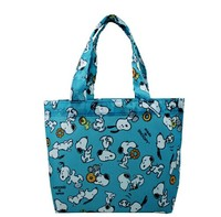 snoopy fully printed handle shopping bags