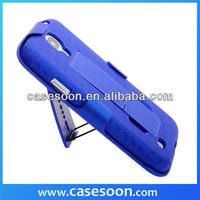 Rubber Holster Case For Samsung Galaxy S4 I9500 With Belt Clip+Stand,For S4 holster case,For S4 Hybird case