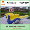 Durable 0.9mm PVC Tarpaulin Inflatable Water Totter Slide For Sale