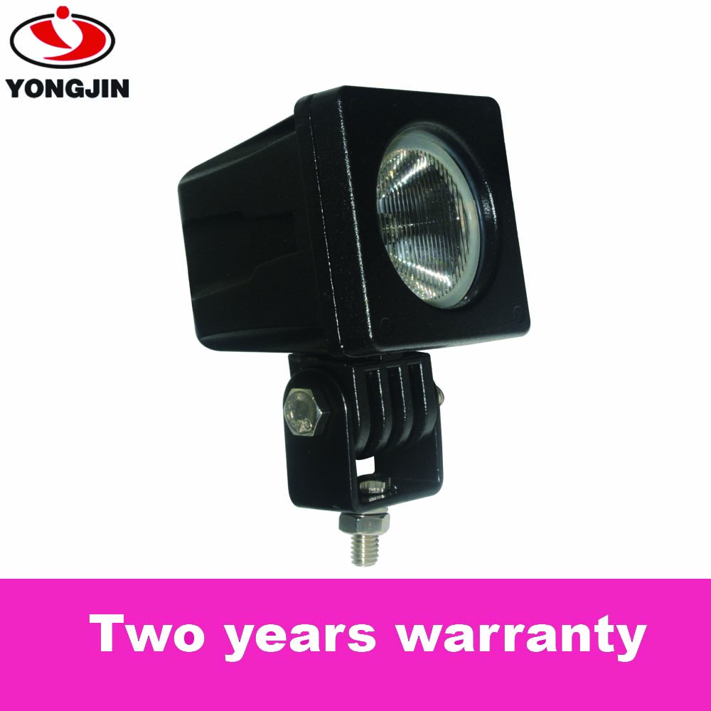 DC10-31V Waterproof 10W LED CREEs spotlight worklight head lights for SUVs bumper, fire engine,ambulance and car