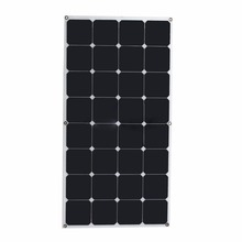 Shenzhen high efficiency best price free shipping 50w 100w 150w 200w flexible solar panel