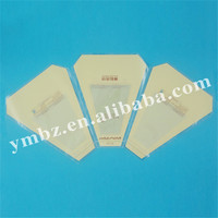 Plastic triangle shape bag for sandwich packaging/OPP plastic food bag