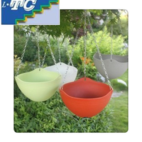 Hanging Flower Pot With Chain