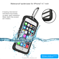 New-online Spiderscase Series Waterproof Case for Apple iPhone 7 4.7 inch Dustproof Shockproof
