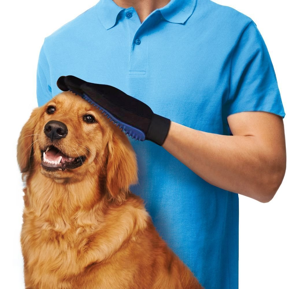 Pet Grooming Glove Dogs Bathing Brushes Pet Hair Remover/Pet Hair Glove