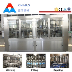bottle filling machine 1000ml, mineral water plant machinery cost, liqour washing filling and capping machine