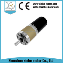 planetary geared dc motor 12v 24v for robot toy
