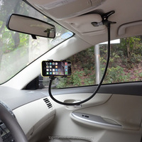 Universal Gooseneck Cell Phone Clip Holder Lazy Bracket Flexible Long Arms phone holder for car