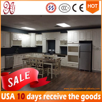 """ SPOT PRODUCT ""(Quickly Delivery) New Classic Kitchen Cabinet , White Solid Wood kitchen cabinet furniture"