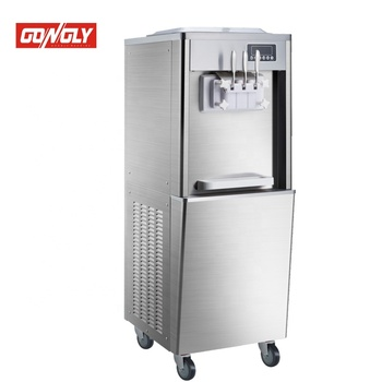 Wholesale China Merchandise Soft Serve Ice Cream Machine Street Food Stainless Steel Used Ice Cream Machine