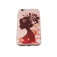 Competitive Price Free Sample TPU Transparent case best cell phone case printer for iphone 6 6s