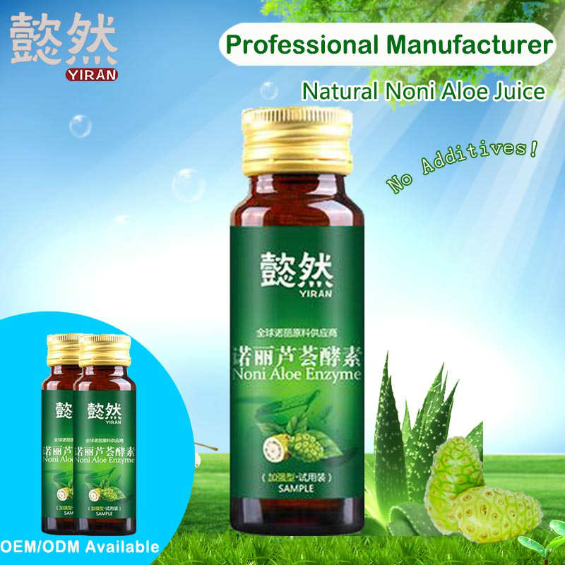 Fermented noni aloe enzyme juice for healthy
