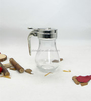Glass Bulb Jar Sugar Dispenser,Syrup Dispenser