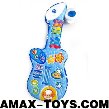 bte-1203804 cartoon music guitar children cartoon animal cloth guitar