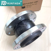 Factory supply DIN flanged flexible rubber expansion joint