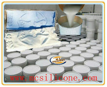 Two-component room temperature condensation cure silicone