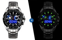 2016 china top quality Hot Military outdoor sport multifunction electronic Quartz Watches,Water Resistant Mineral Glass Luminous