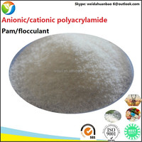 Construction Materials Cationic Flocculant Polyacrylamide as Drag Reducing Agent