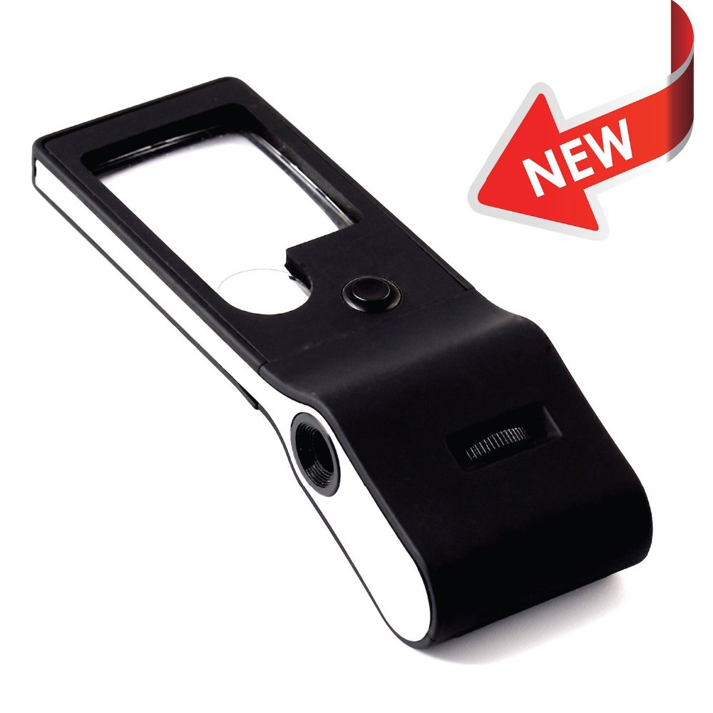 3x 10x Mini Magnifier With 15x Adjustable Jewelers Loupe ...