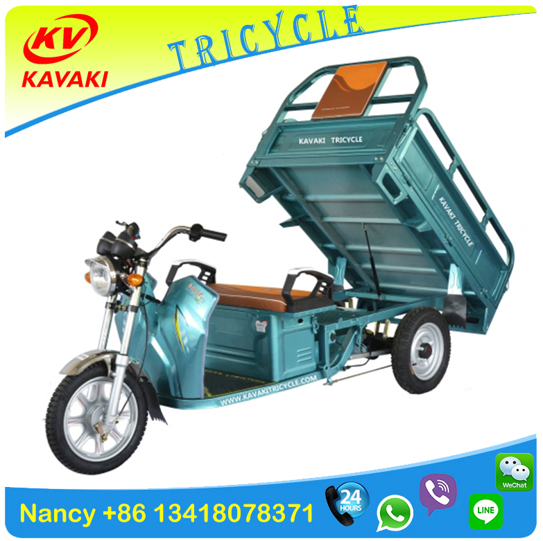 cargo battery electric 3 wheel food transport vehicle