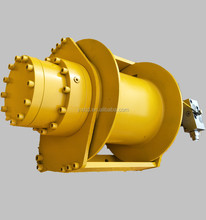 free-fall function hydraulic winch various tons for lifting goods