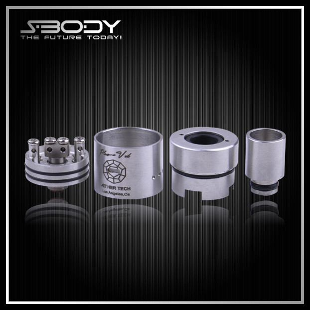 S-BODY hot DIY RDA the russian no wickless tank atomizer 26650 rda atomizer