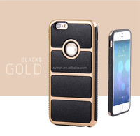 TPU +PC hybrid armor heavy duty case for iphone 6/6s
