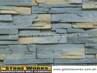 MANUFACTURED STONE WALL CLADDING - LEDGESTONE RIVERVIEW