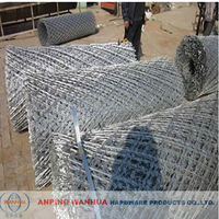 Electric Galvanized Welded Razor Barbed Wire Fence (ISO 9001 Anping Factory)