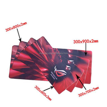 Factory New product cheap Advertising mouse pad with wrist rest