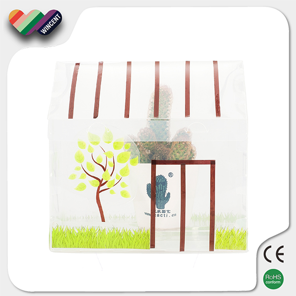 PP Material Funny Greenhouse Educational 3D Puzzle