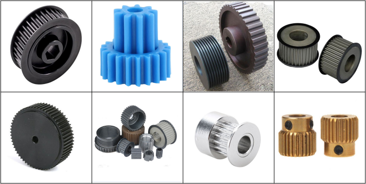China OEM Aluminum timing pulleys