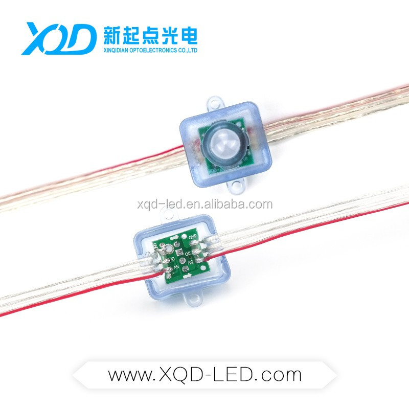 XQD pop controlled flexible pixel led strip ws6803 light in India