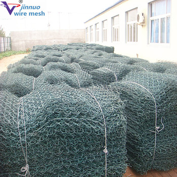 Heavy Galvanized Gabion Box (zinc coating:270gr)