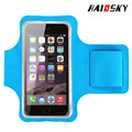 Haissky clearance price for waterproof smartphone armband /velcro wrist band for iphone 6plus with double buckles